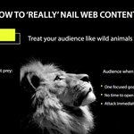 Image for the Tweet beginning: HOW TO 'REALLY' NAIL WEB