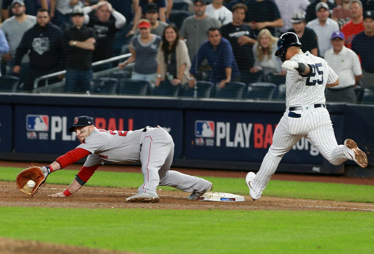 Yankees eliminated after 9th inning rally falls short in Game 4