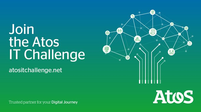 #AtosITChallenge registration is open! Any students enrolled at #university this year can...