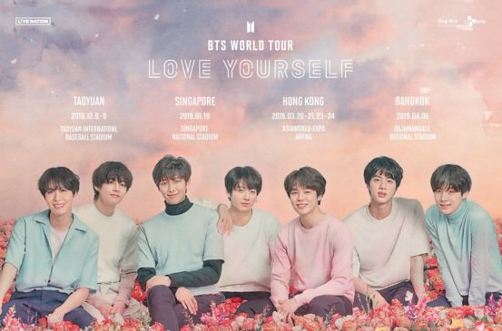They heard you, ARMY! #BTS #LOVE_YOURSELF tour coming to Singapore, Hong Kong and Bangkok next year https://t.co/iG6URtx6b7