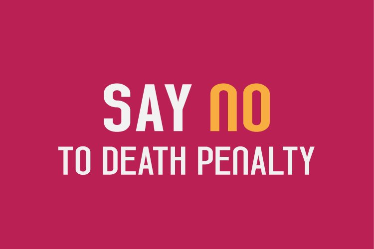 #StandUp4HumanRights #AbolishTheDeathPenalty ⚖️