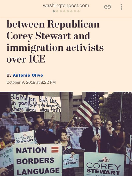 Hey, mom & dad. The Washington Post included my  Million black kids in poverty. Why do democrats choose illegal aliens first? sign. The fact that democrats abandon the black community is finally going mainstream. #WednesdayWisdom Photo