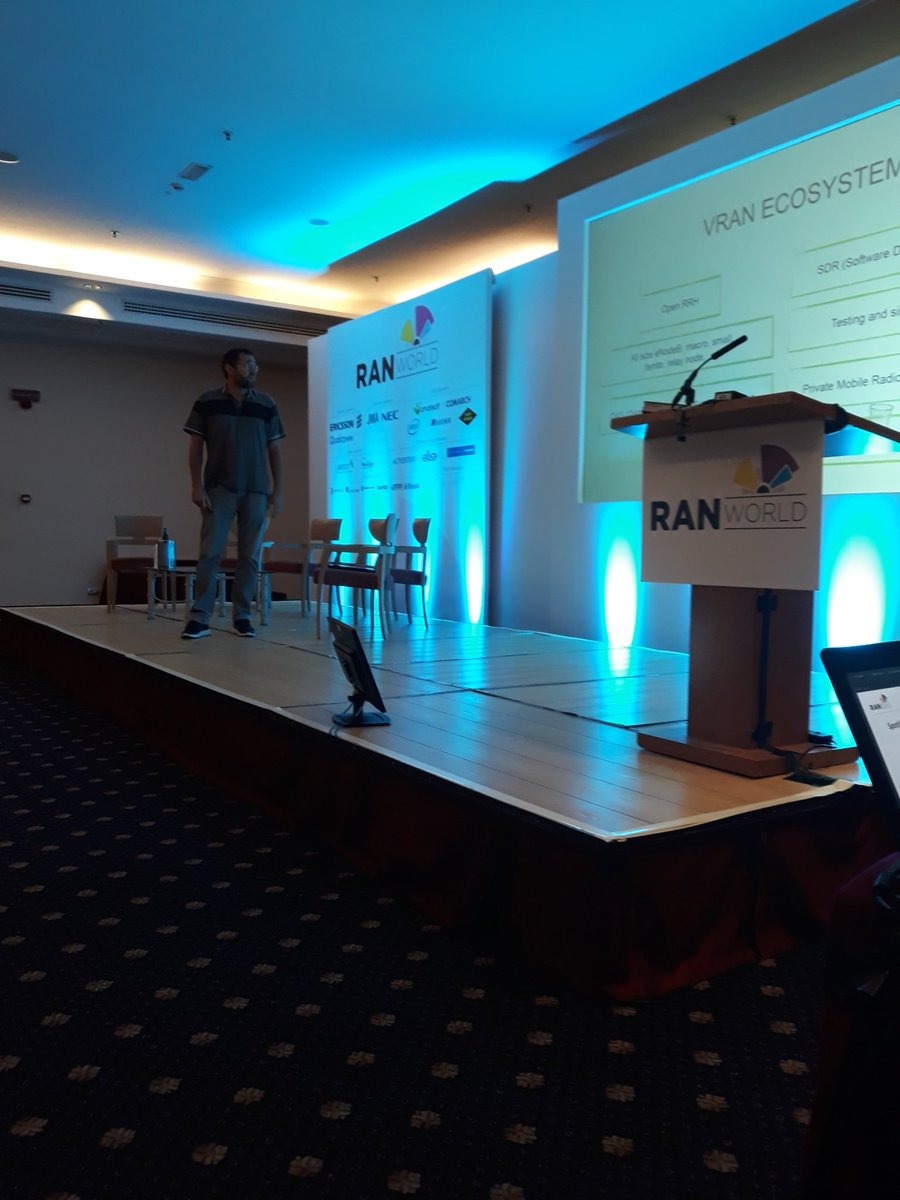 Franck Spinelli from @amarisoft  talks vRAN at RAN World #ranworld