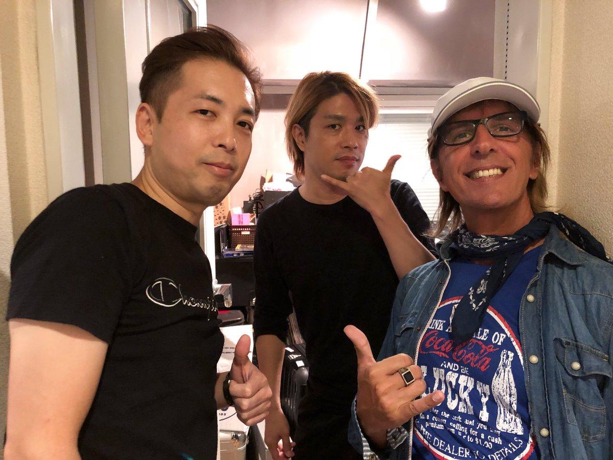 """Y&Co. 横田商会 on Twitter: """"来日中のデイヴ・ロジャースが横田商会の ..."""