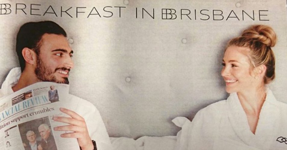 Hotel takes down 'sexist' ad showing couple having breakfast in bed... ladbible.com/news/weird-hot…