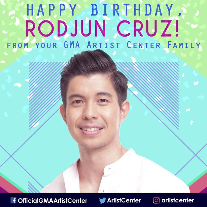Happy Birthday, Rodjun Cruz! We hope all your birthday wishes come true!
