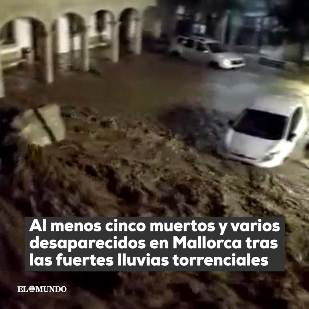 Spain: Heavy rains, floods kill at least five in Mallorca