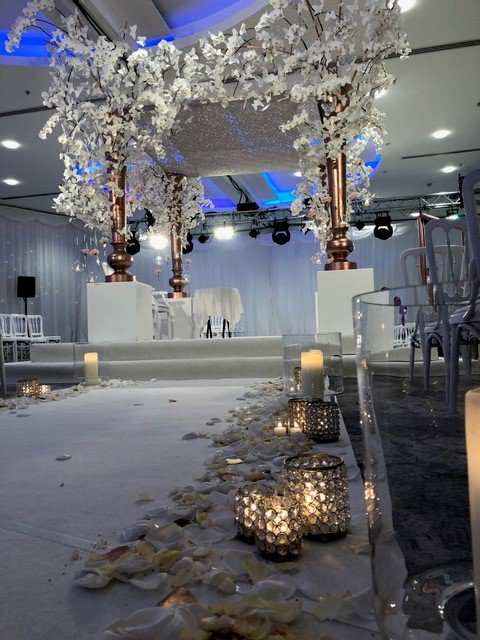 Springbank flowers springbankuk twitter we advise that you allocate a percentage of the flowerdecor budget towards professional lighting weddings at the lowry hotel httpbit2vmwvye mightylinksfo
