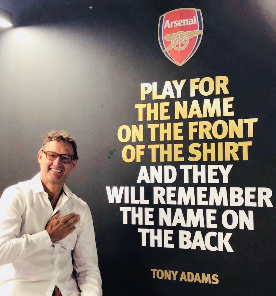 He played for the name on the front of the shirt  We'll always remember his name on the back  @TonyAdams ❤️ https://t.co/dpOhWesuRB