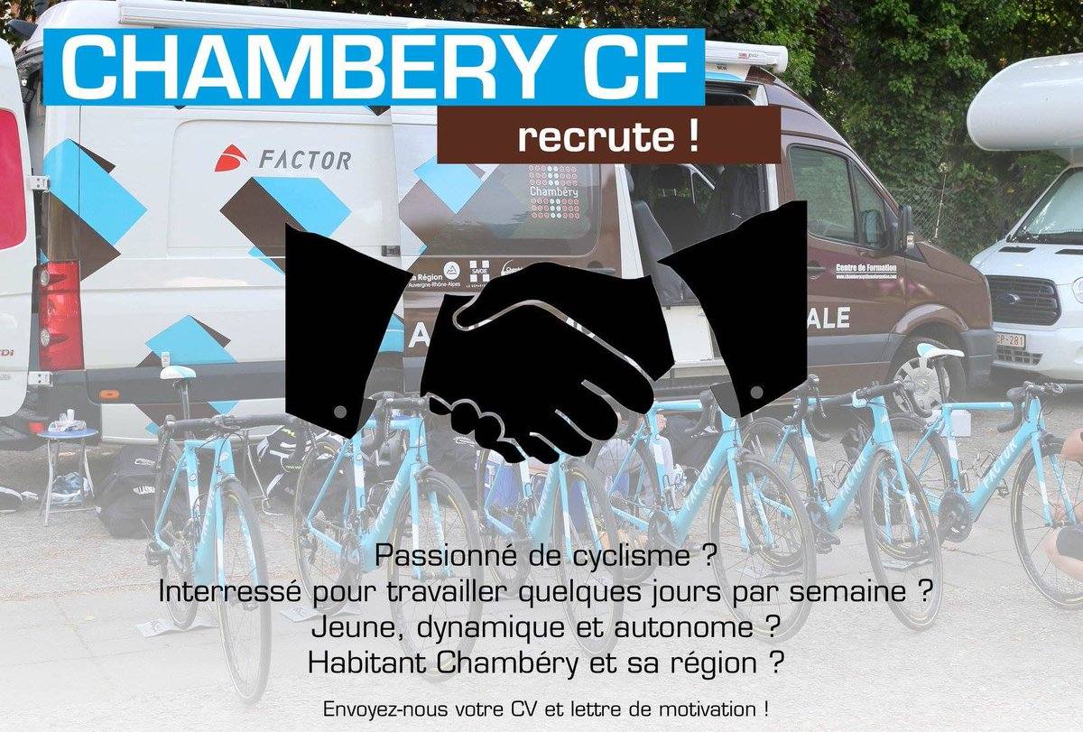Chambéry Cf On Twitter Recrutement 2 Contrats
