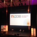 Image for the Tweet beginning: Day 2 at NU2018 in