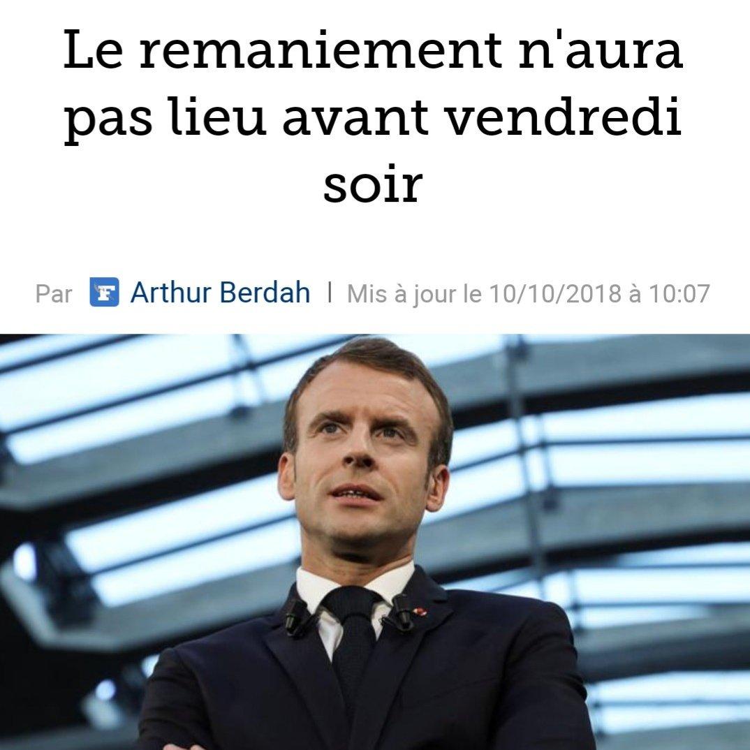 Les Français qui souffrent assistent à un cirque sans fin. Qu\