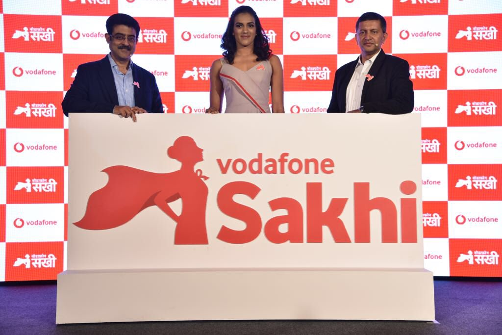 Proud to be associated with @VodafoneIN Sakhi. I encourage all women to be Bold, Brilliant, Brave and live life without inhibitions. Vodafone Sakhi ke saath #AbRukeinKyun