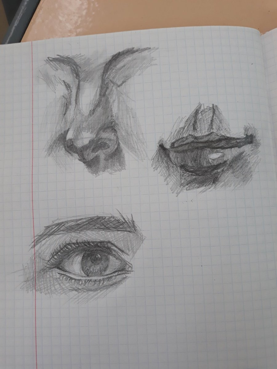 Страдаю фигней на Инженерной графике👌 P.S. Чертежные карандаши не особо заходят для рисования Да и тетрадные листы тоже #art #arts
