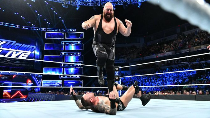 .@WWETheBigShow was welcomed with open arms by The @WWEUniverse today on #SDLive! Photo