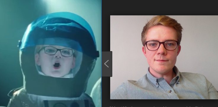 Is it weird that whenever I see that John Lewis Bohemian Rhapsody ad with the cute spaceboy I think of @Birdyword?