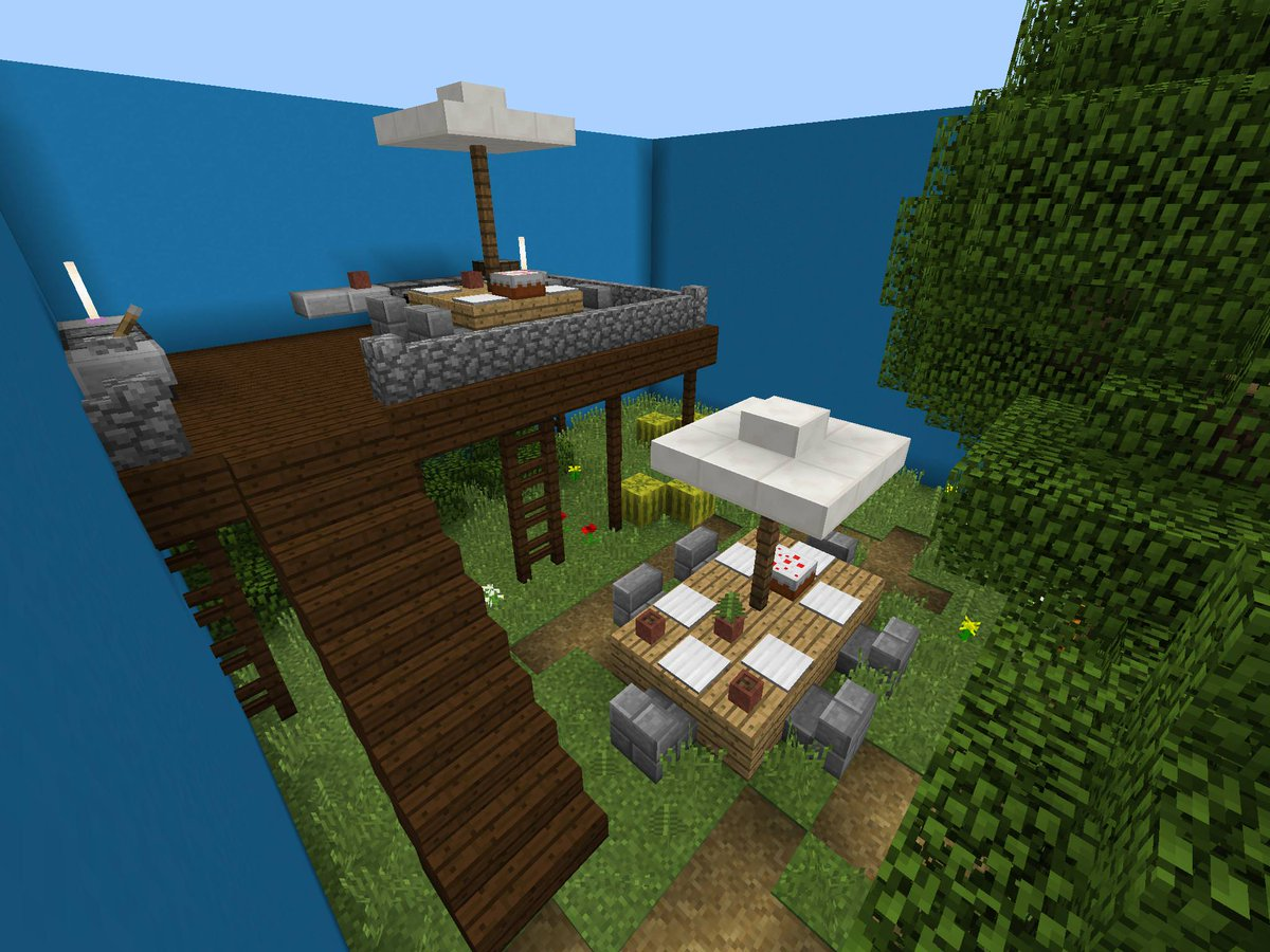 "MCBEDROCK on Twitter: ""Find The Button: Backyard Edition # ... on Backyard Ideas For Minecraft id=96919"