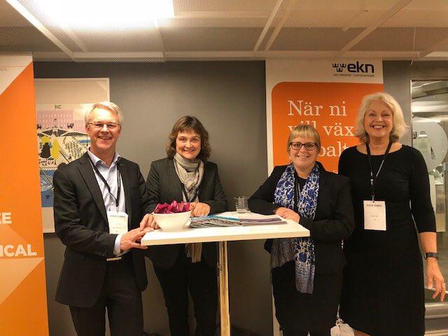 sports shoes 791c5 fe0b9 EKN s team idag på Global Export Summit i Stockholm. Många företag och  organisationer på plats för inspiration och erfarenhetsutbyte kring ...