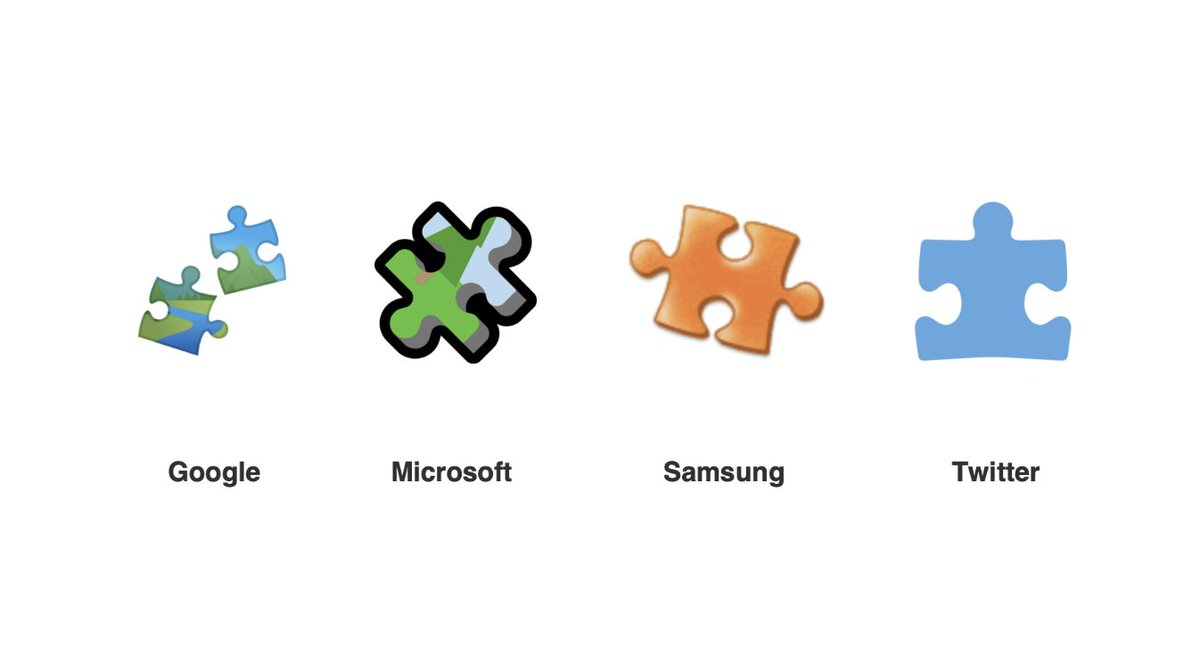 Jeremy Burge On Twitter Emoji Note The Jigsaw Puzzle Piece Emoji Isn T Intended As An Autism Awareness Emoji Though It Could Be Seen As Such When Shown In Blue Some Backstory