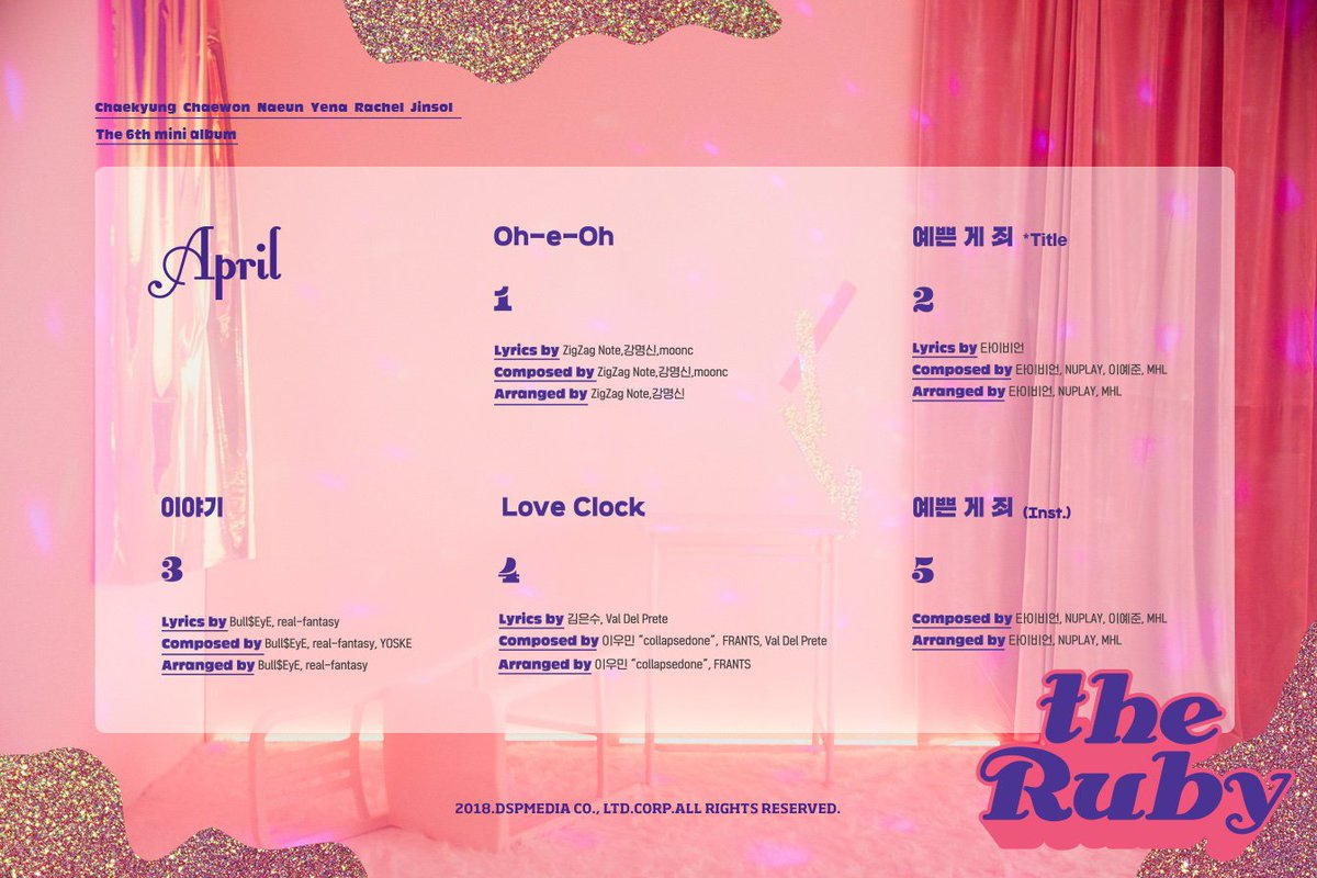 """April >> Mini Album """"The Blue"""" - Página 5 DpJ8Mz1VsAErH6e"""