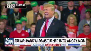 """Democrats have become totally unhinged…they've gone crazy"" -President Trump https://t.co/df17A6QUMS"