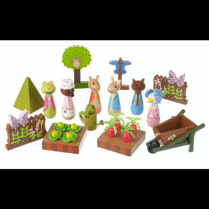 Jeremy Fisher push up Orange Tree Toys