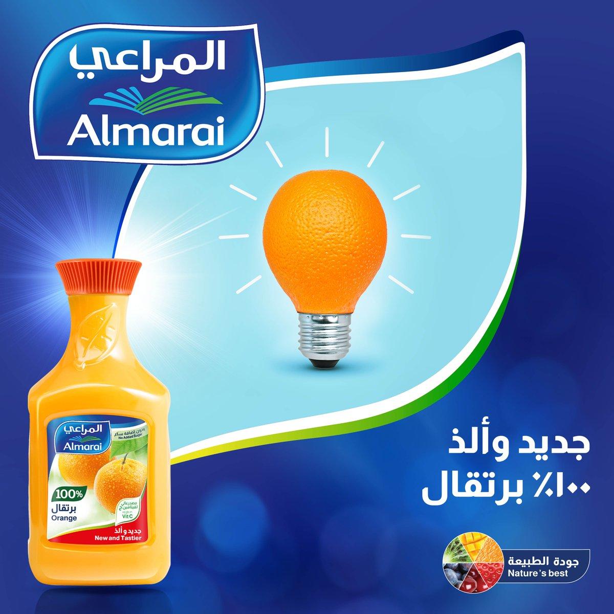 Almarai المراعي On Twitter عصير البرتقال ألذ فكرة لكل يوم المراعي جديد وألذ
