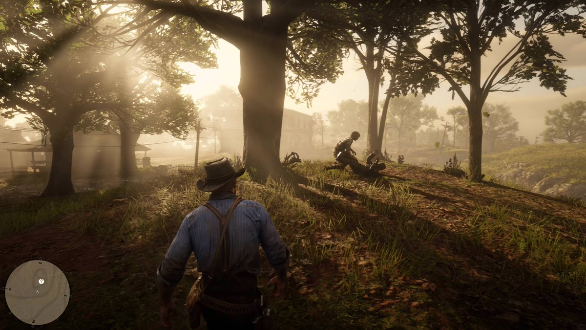 Red Dead Redemption 2 4K Screens are just perfection  <br>http://pic.twitter.com/eA1iOsS38n