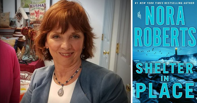 Happy Birthday Nora Roberts (aka J.D. Robb). We like your mysteries and your romances!