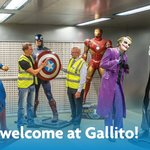 Image for the Tweet beginning: Hero's welcome at Gallito! We