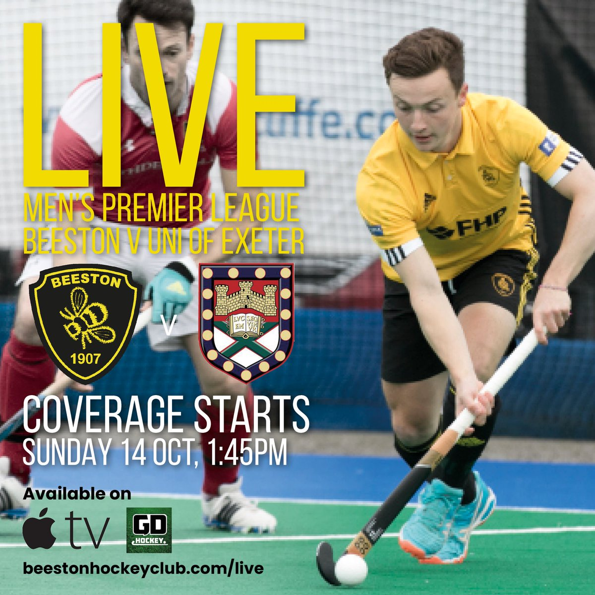 Beeston Hockey Club On Twitter This Weekend Our Cameras And