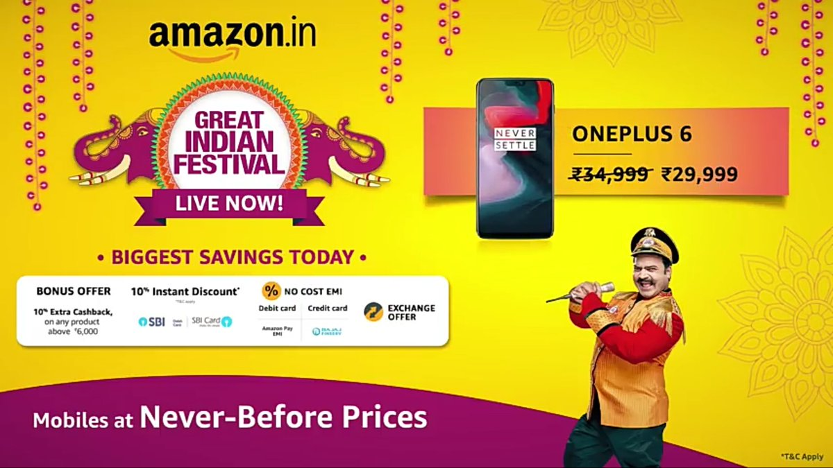 Rushiraj Sampat On Twitter Nogreatersale Amazongreatindianfestival Spotted On You Tube Https T Co 779gbglfhb