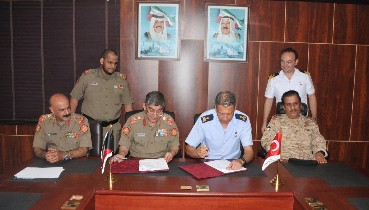 توقيع خطة عسكرية للدفاع بين تركيا والكويت DpJQLc9V4AAOsyQ
