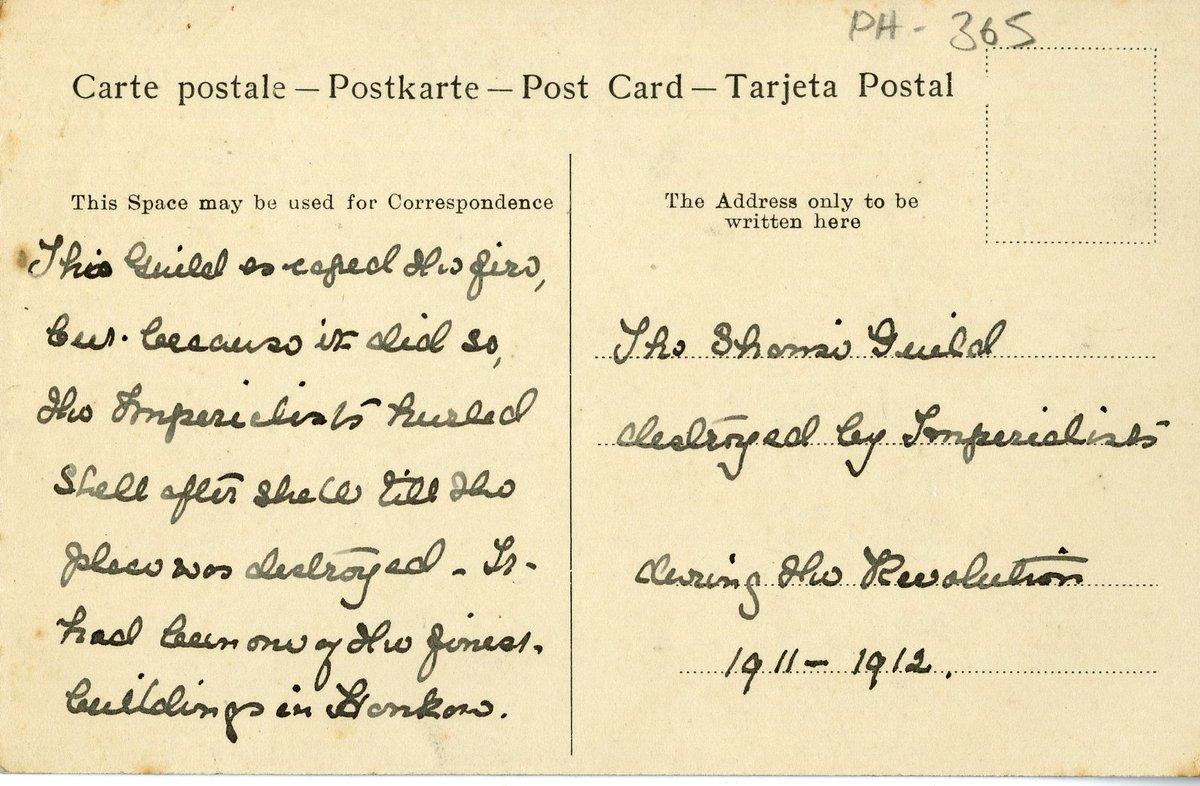 Carte Resident Chine.Littlehampton Museum On Twitter Onthisday The 1911
