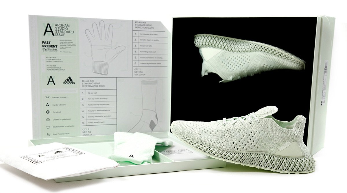 size 40 a1d0a faa3d IN-STORE RAFFLE for the Daniel Arsham x adidas Futurecraft 4D will be held  TODAY (1010) in our CAMBRIDGE location from 1000AM-700PM • Valid ID  Required ...