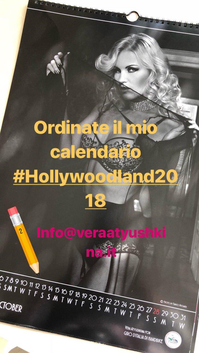 Vera Atyushkina Calendario.Vera Atyushkina On Twitter Ordinate Il Mio Calendario