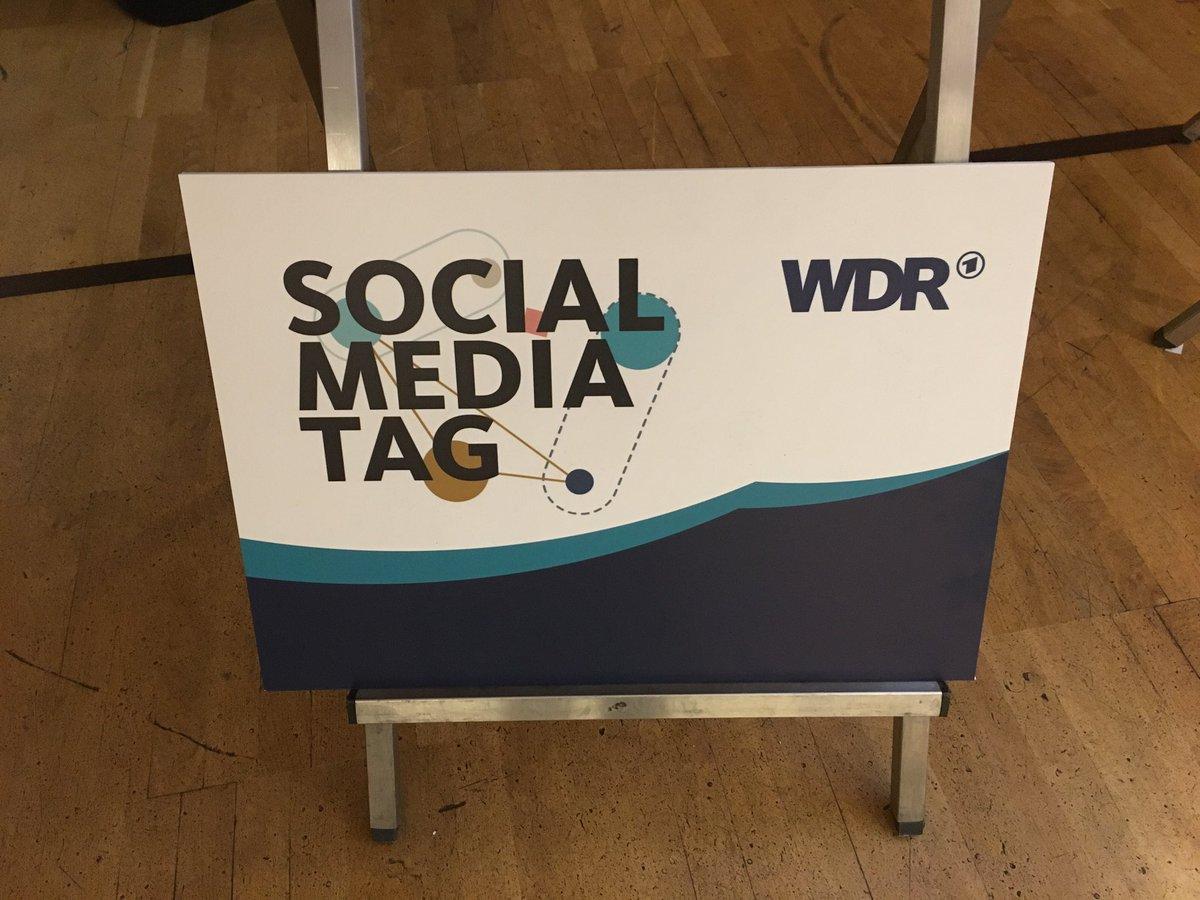 #WDRSMT: Bin jetzt auch dabei und freue mich auf spannende Inputs.