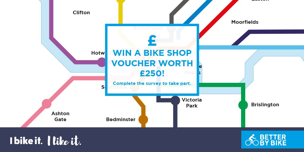 test Twitter Media - Do you Bike It and Like It? How well do you know the Bristol Cycle Network? WIN a bike voucher worth £250 by filling out our quick survey: https://t.co/e2aNTOmxtI https://t.co/aSj8OgYZB1
