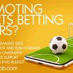 Image for the Tweet beginning: Promoting sportsbook or gambling? check