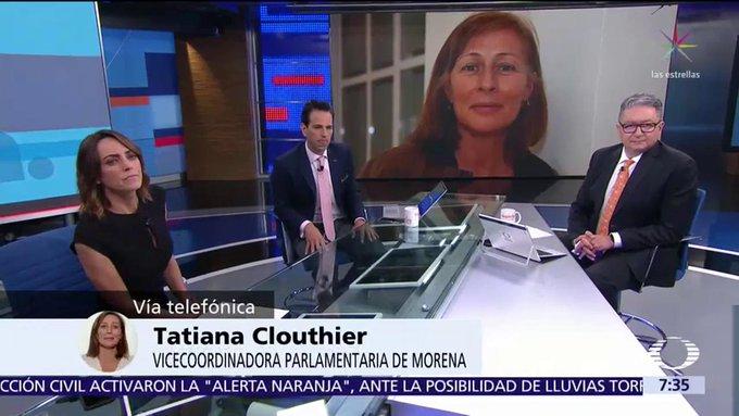 Tatiana Clouthier (@tatclouthier), vicecoordinadora de los diputados de Morena, aclaró que no hay pleito con AMLO y que decidió tomar la diputación porque le permite estar con su familia y poder servir a México desde la parte legislativa. #DespiertaConLoret Foto