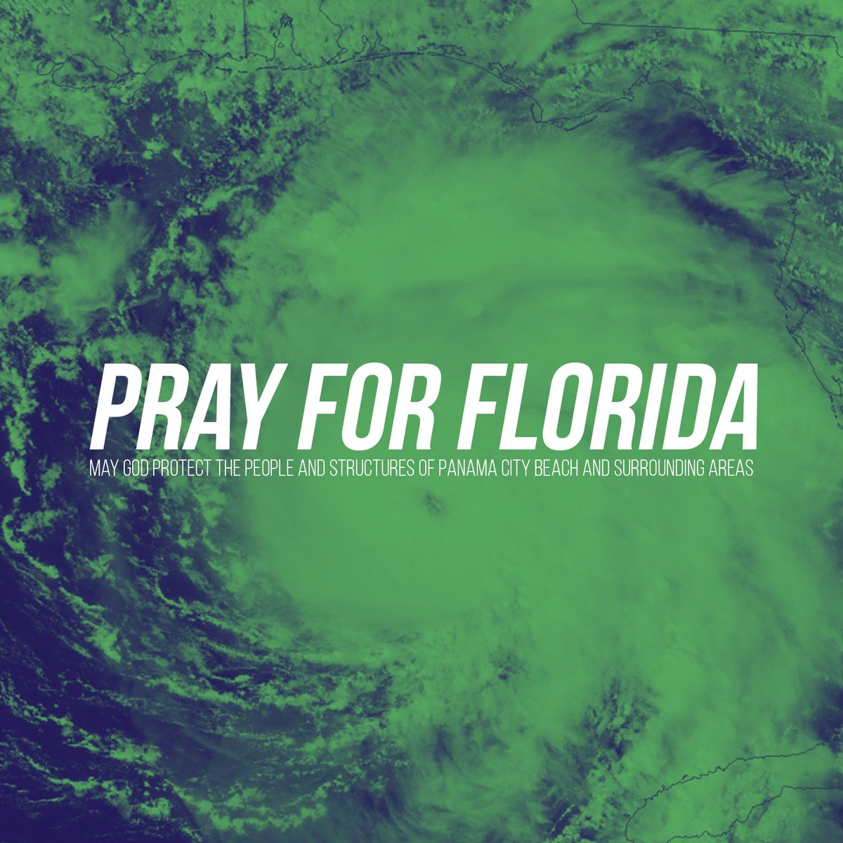 Our hearts our with our Panama City Beach Campus, and the entire community surrounding. We are praying for your safety even now. #PrayForFlorida <br>http://pic.twitter.com/FbP1m1K0YP