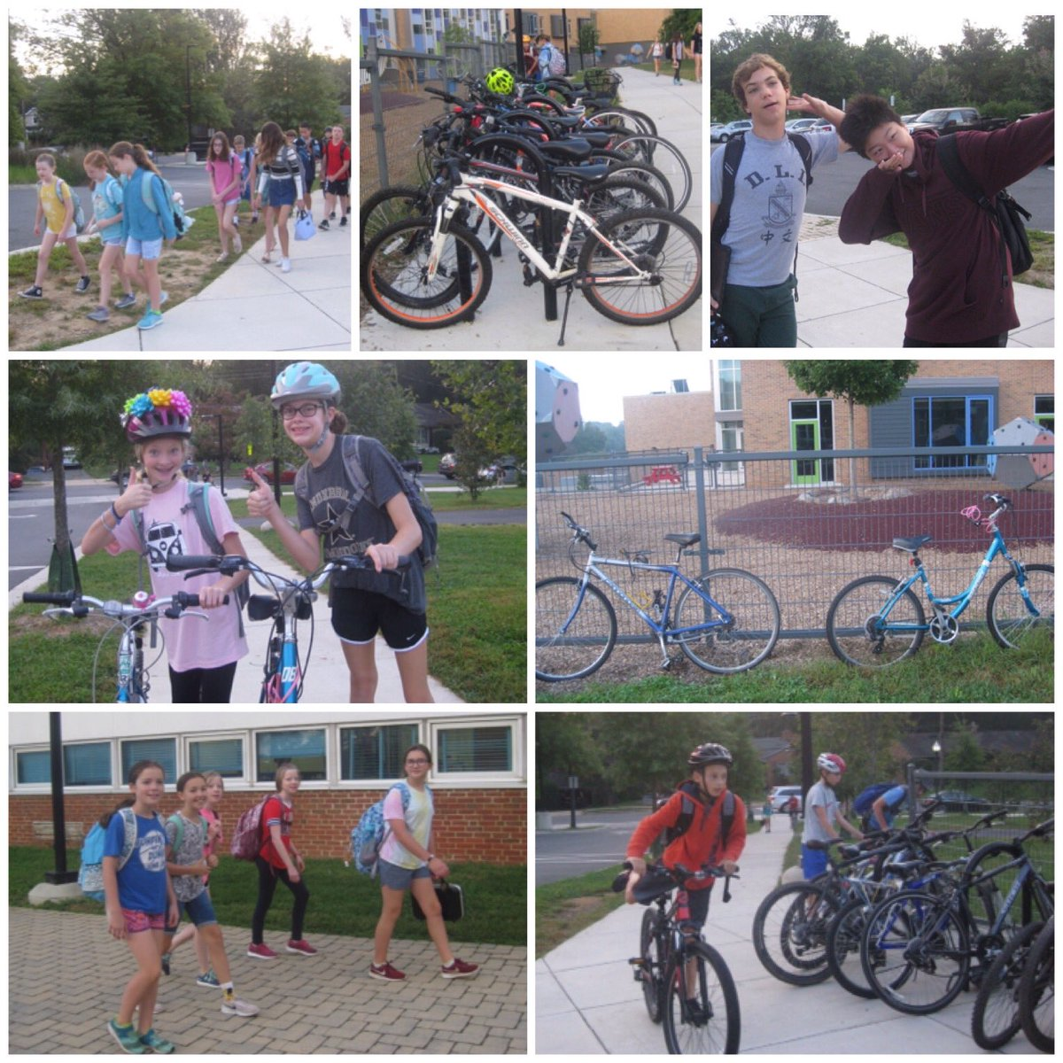 2 feet -- 2 wheels -- all good! WMS students Walk &amp; Bike to School. Getting fit and helping the environment, all before 8am. <a target='_blank' href='http://search.twitter.com/search?q=WMSwolf'><a target='_blank' href='https://twitter.com/hashtag/WMSwolf?src=hash'>#WMSwolf</a></a> <a target='_blank' href='http://search.twitter.com/search?q=APSWalk2SchoolDay'><a target='_blank' href='https://twitter.com/hashtag/APSWalk2SchoolDay?src=hash'>#APSWalk2SchoolDay</a></a> <a target='_blank' href='http://search.twitter.com/search?q=WeCan'><a target='_blank' href='https://twitter.com/hashtag/WeCan?src=hash'>#WeCan</a></a> <a target='_blank' href='https://t.co/gTe1rEXw5f'>https://t.co/gTe1rEXw5f</a>