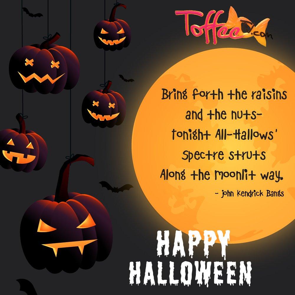 "ToffeeTV on Twitter: ""No tricks, just treats! Because it's Halloween.  #halloween #spooky #october #horror #halloweencostume #scary #art #fall  #inktober #drawing #meme #makeup #dankmemes #trickortreat #memes #pumpkin  #autumn #funny #trending ..."