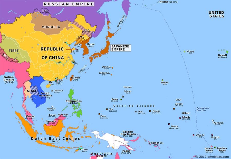 Map Of Asia 1914.Omniatlas On Twitter Asia Pacific 104 Years Ago Today Conquest Of