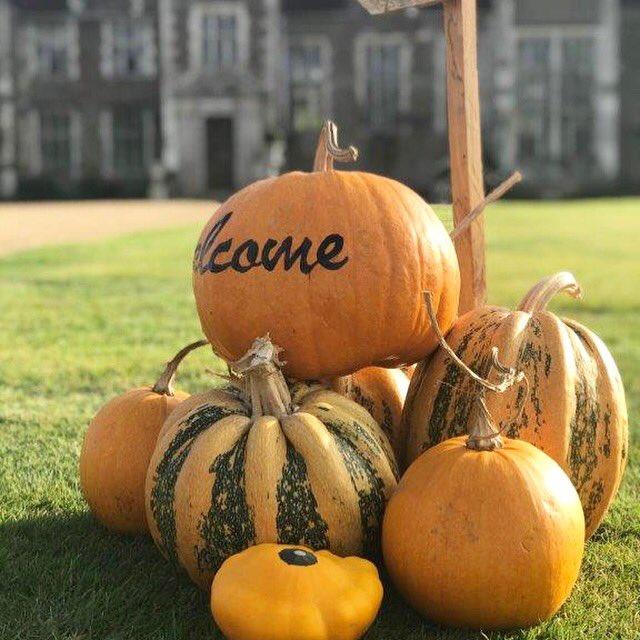 Pumpkin signpost! #weddingideas #weddingday #gettingmarried #weddingvenue #autumnalwedding #Autumn