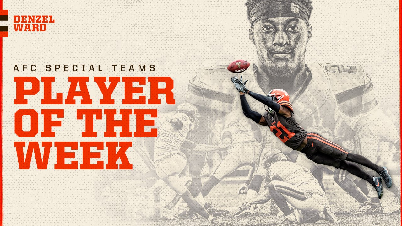 .@denzelward has been named AFC Special Teams Player of the Week! ��  �� » https://t.co/MqOMWXqwPd https://t.co/53SxxlTVxx