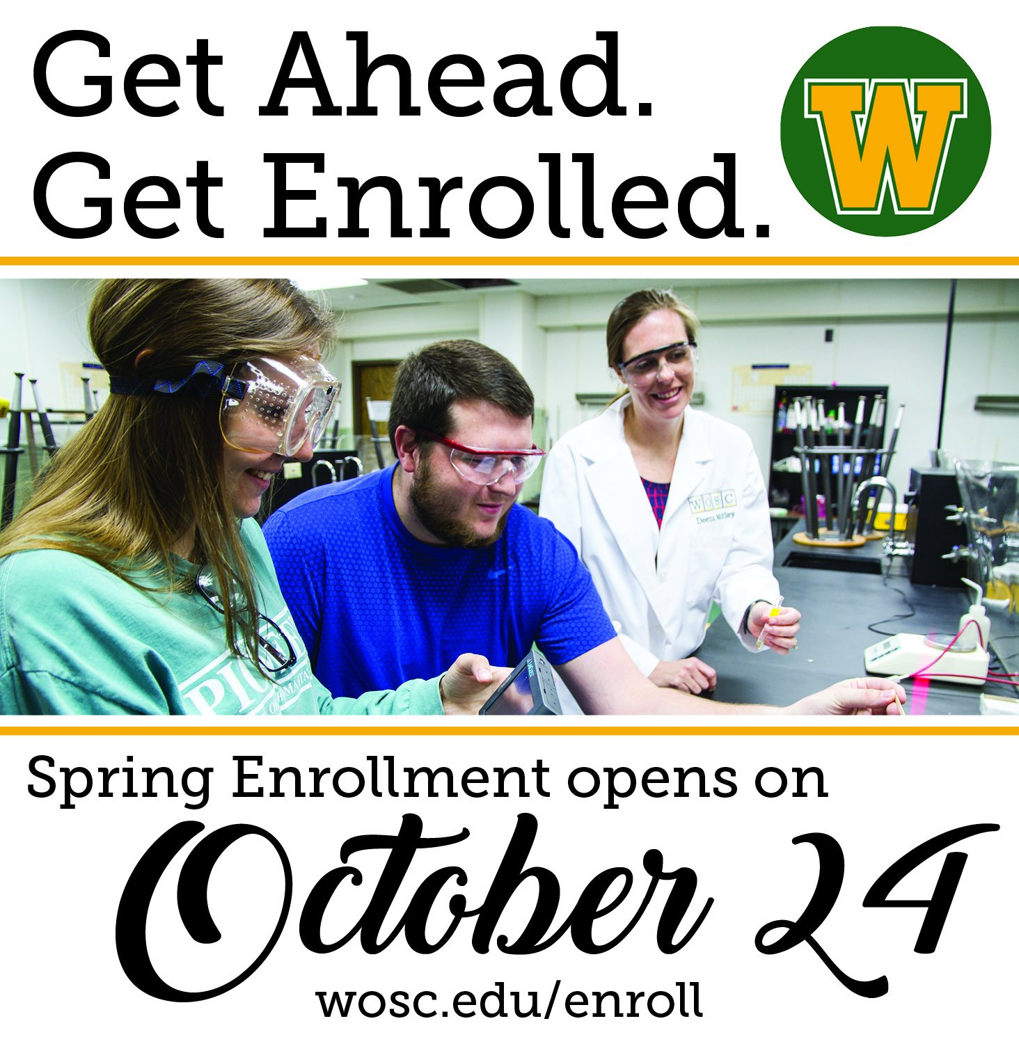 Western Oklahoma State College On Twitter Spring Enrollment Begins