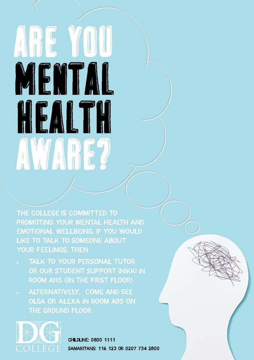 Emotional Well Being Of College >> David Game College On Twitter Today Is World Mental Health Day