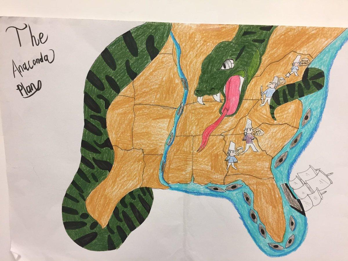 who made the anaconda plan