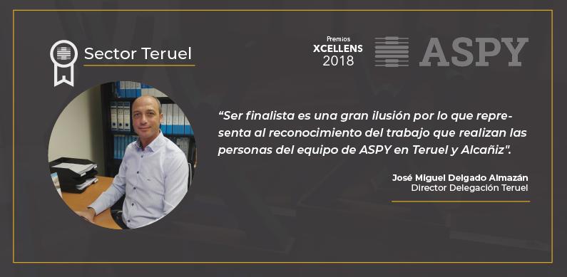 test Twitter Media - Os presentamos al primer candidato a los premios Xcellens al sector que mejor a trasladado a nuestros clientes los valores de ASPY Prevención. #Teruel. Los otros finalistas son #Bilbao #Murcia . #Xcellens2018. https://t.co/DtOQkcnJPi